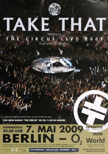 Take That, Berlin 2009