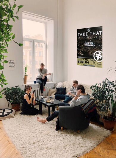 Take That - Berlin, Berlin 2009 - Konzertplakat