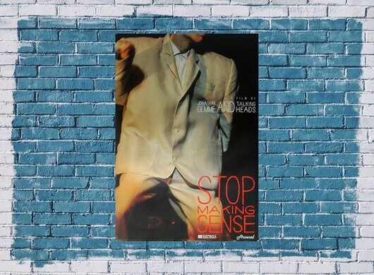 Talking Heads - Stop Making Sense,  1982 - Konzertplakat