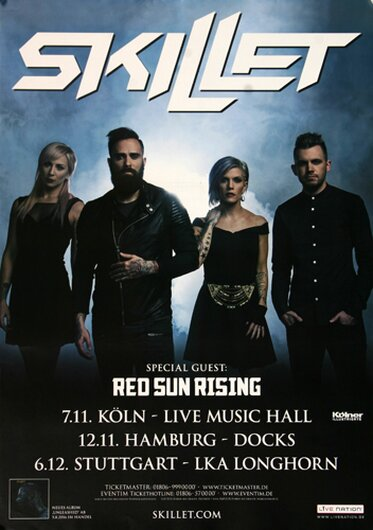Skillet - Monster, Tour 2016