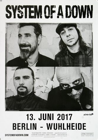 System Of A Down, Berlin 2017