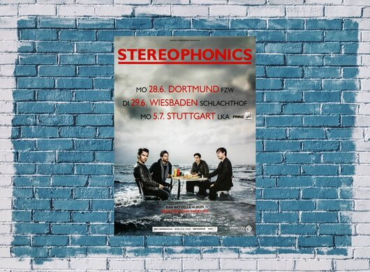 Stereophonics - Pull The Pin, Tour 2010