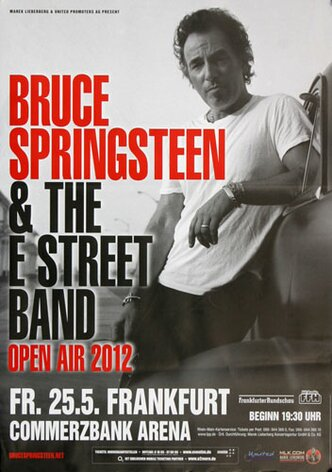 Bruce Springsteen - Open Air , Frankfurt 2012 -...