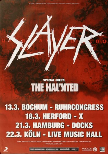 Slayer, Hamburg 2010