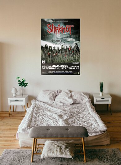 Slipknot - All Hope Is Gone, Frankfurt 2008 - Konzertplakat