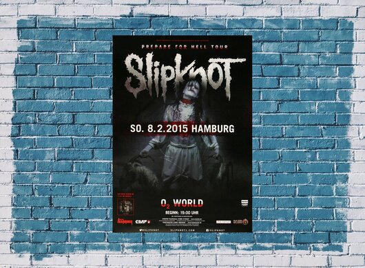 Slipknot - Prepare For Hell , Hamburg 2015, 24,90 €