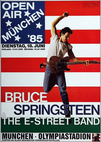 Bruce Springsteen - Born in the USA, München 1985 -...