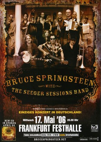 Bruce Springsteen - Seeger Session , Frankfurt 2006 -...