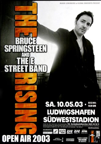 Bruce Springsteen - Open Air, Ludwigshafen 2003 -...