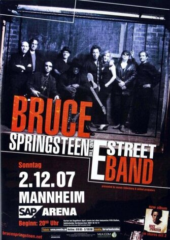 Bruce Springsteen - Magic Mannheim, Mannheim 2007 -...