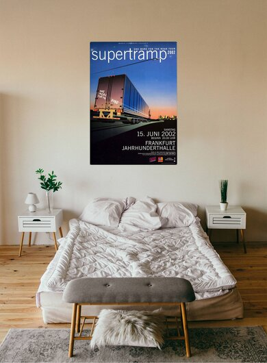 Supertramp - One For The Road, Frankfurt 2002 - Konzertplakat
