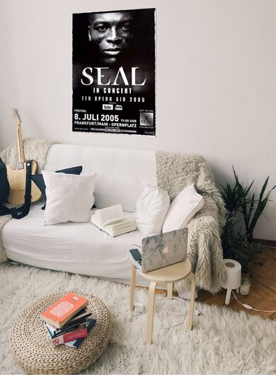 Seal - At The Point, Frankfurt 2005 - Konzertplakat