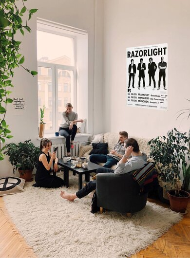 Razorlight - Up All Night , Tour 2007 - Konzertplakat