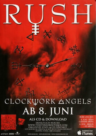 Rush, Clockwork Angels, 2012