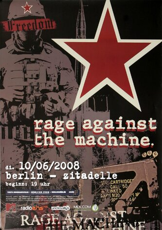 Rage against the Machine - Evil Empire, berlin 2008 -...