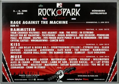 ROCK AM RING & PARK - Rock im Park, Rock am Ring 2010 -...