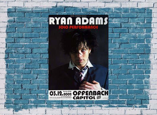 Ryan Adams - Demolition, Frankfurt 2002 - Konzertplakat