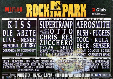 ROCK AM RING & PARK - 1997, Rock am Ring 1997 -...