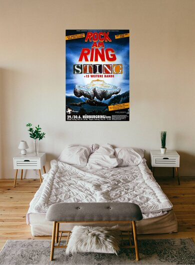 ROCK AM RING & PARK - 1991, Rock am Ring 1991 - Konzertplakat