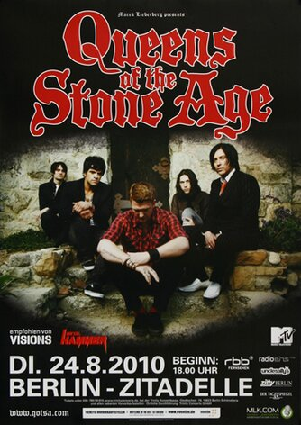 Queens of the Stone Age - Songs For Berlin, Berlin 2010 -...