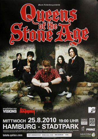 Queens of the Stone Age - Songs For Hamburg, Hamburg 2010...