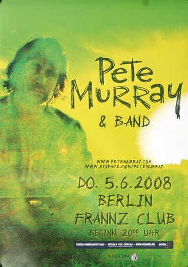 Pete Murray & Band, Berlin 2008