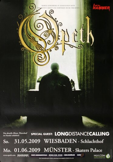 Opeth - Forest Of October, Tour 2009