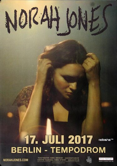 Norah Jones - Day Breaks , Berlin 2017 - Konzertplakat