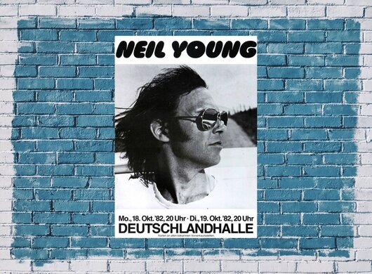 Neil Young - Trans, Berlin 1982