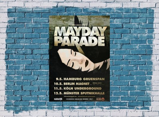 Mayday Parade - Black Lines, Tour 2011