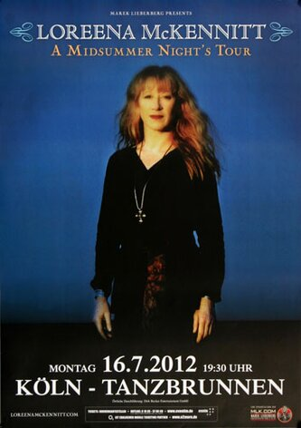 Loreena McKennitt - Midsummer Night , Köln 2012 -...