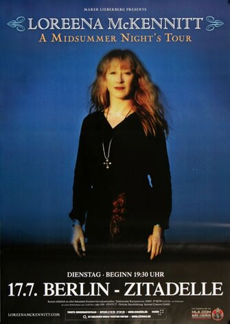 Loreena McKennitt - Midsummer Night , Berlin 2012 -...