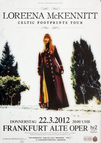 Loreena McKennitt - Celtic Footprints, Frankfurt 2012 -...