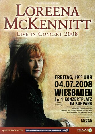 Loreena McKennitt - All The Way, Wiesbaden 2008 -...