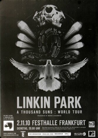 Linkin Park - A Thousand Suns, Frankfurt 2010 -...