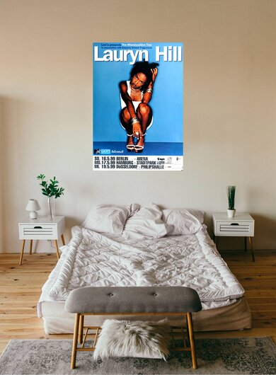 Fugees - Lauryn Hill, Miseducation, 1999 - Konzertplakat