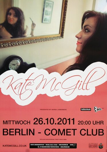 Kate McGill - Someone Like You, Berlin 2011 - Konzertplakat