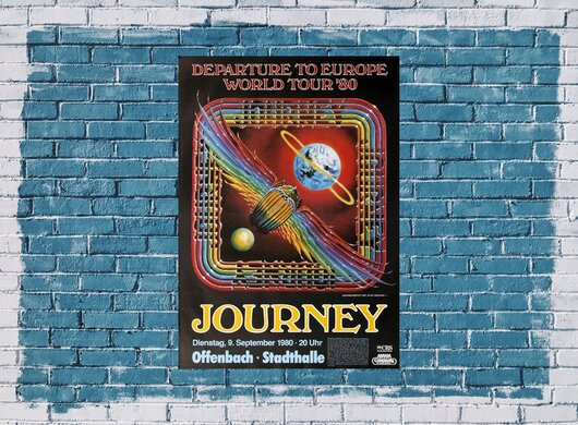 Journey - Departure, Frankfurt 1980
