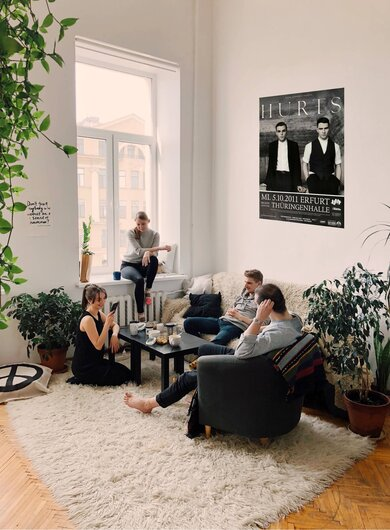 Hurts - Happiness , Erfurt 2011 - Konzertplakat