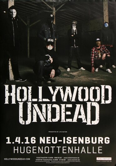 Hollywood Undead, Tour 2016