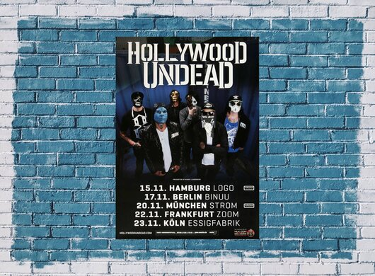 Hollywood Undead - We Are....., Tour 2014 - Konzertplakat