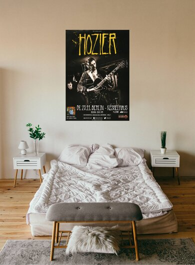 Hozier - Take Me To Church, Berlin 2014 - Konzertplakat