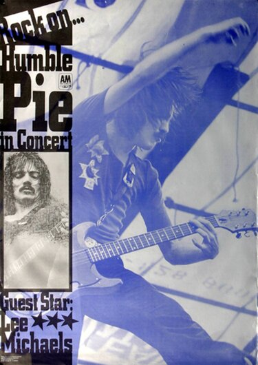 Humble Pie - Rock On,  1971 - Konzertplakat