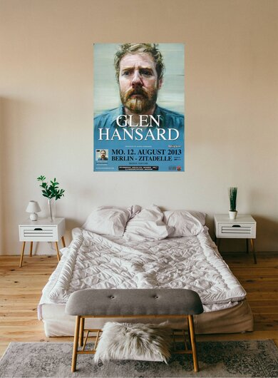 Glenn Hansard - High Hope , Berlin 2013 - Konzertplakat