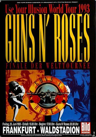 Guns N Roses - Use Your Illusion, Frankfurt 1993 -...