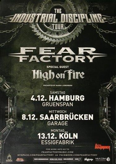 Fear Factory - Industrial Discipline, HH 2010