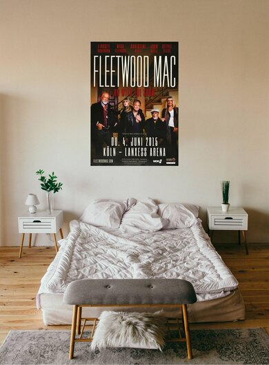 Fleetwood Mac - The Show, Köln 2015 - Konzertplakat