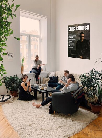Eric Church - Kill A Word, Hamburg & München 2016 - Konzertplakat