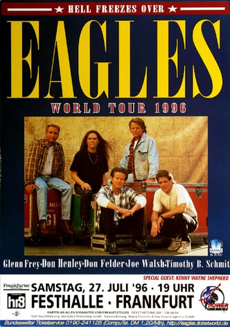 The Eagles - Hell Freezes Over, Frankfurt 1996 -...