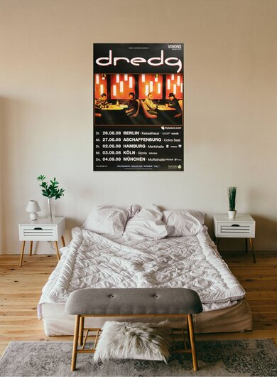 dredg - The Concert, Tour 2008 - Konzertplakat